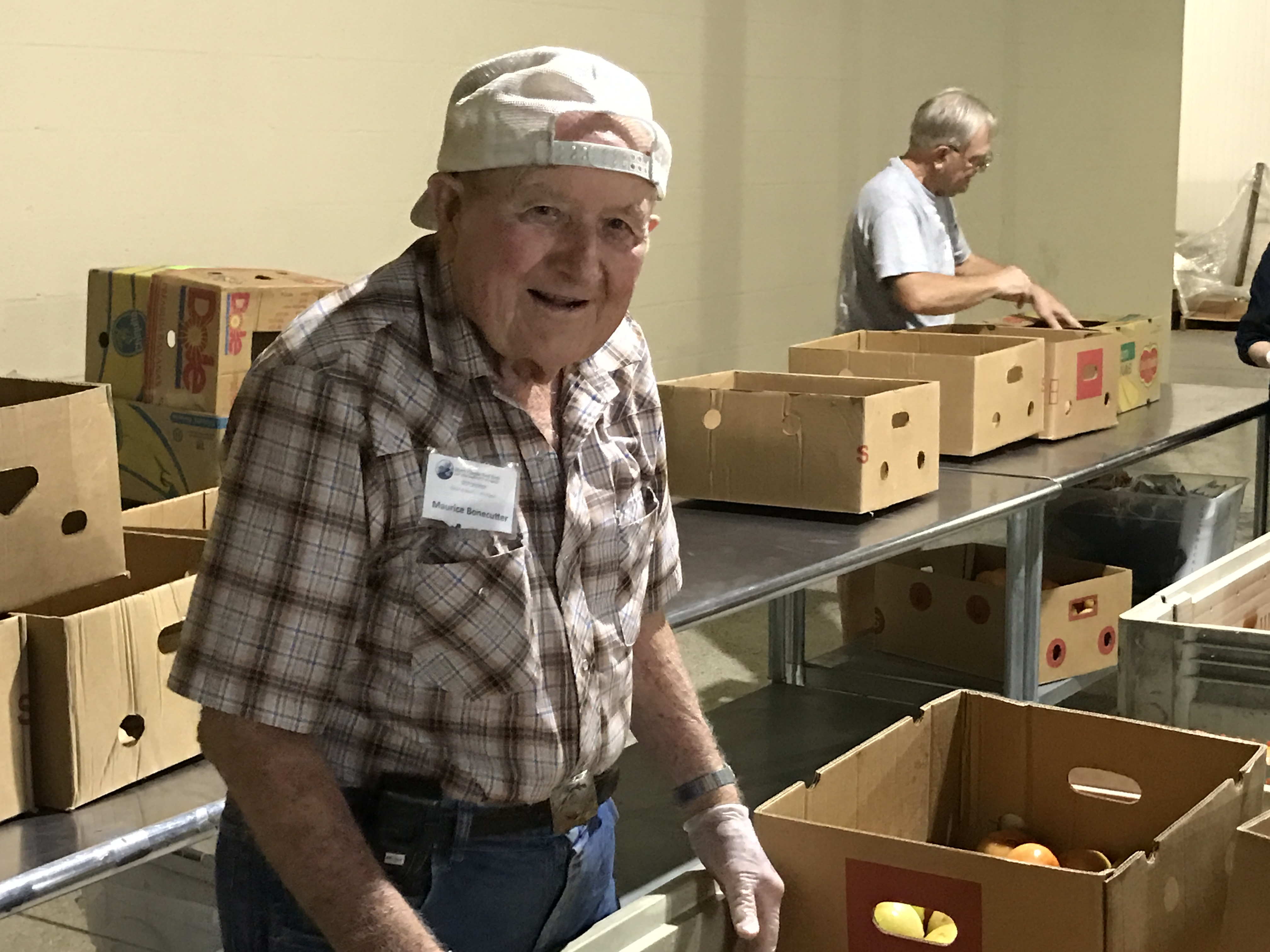 Why Harry Chapin Food Bank's oldest volunteer is moving on ...